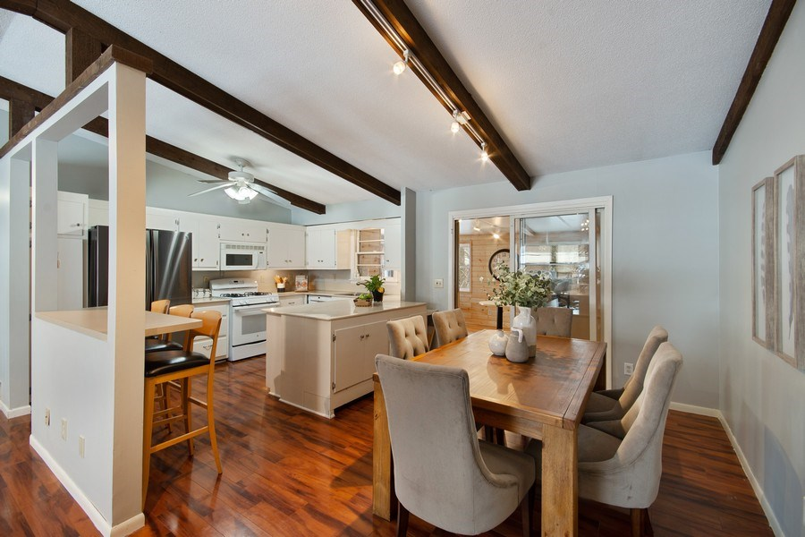 Real Estate Photography - 6210 Cypress Drive, Excelsior, MN, 55331 - Dining Room