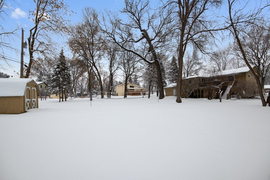 Real Estate Photography - 6210 Cypress Drive, Excelsior, MN, 55331 - Back Yard