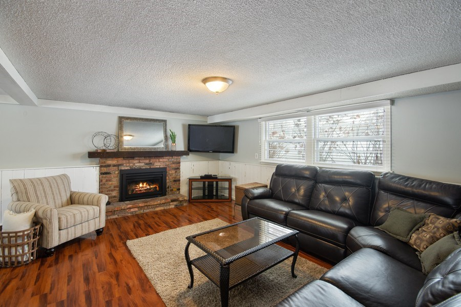 Real Estate Photography - 6210 Cypress Drive, Excelsior, MN, 55331 - Family Room