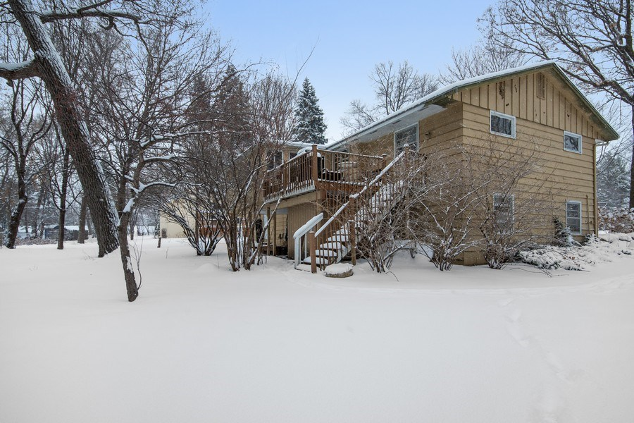 Real Estate Photography - 6210 Cypress Drive, Excelsior, MN, 55331 - Side View