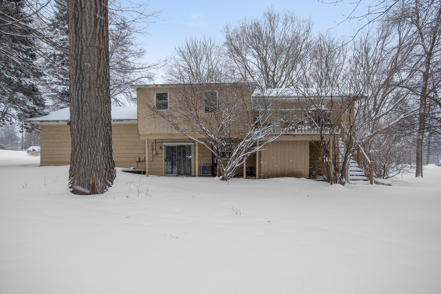Real Estate Photography - 6210 Cypress Drive, Excelsior, MN, 55331 - Rear View