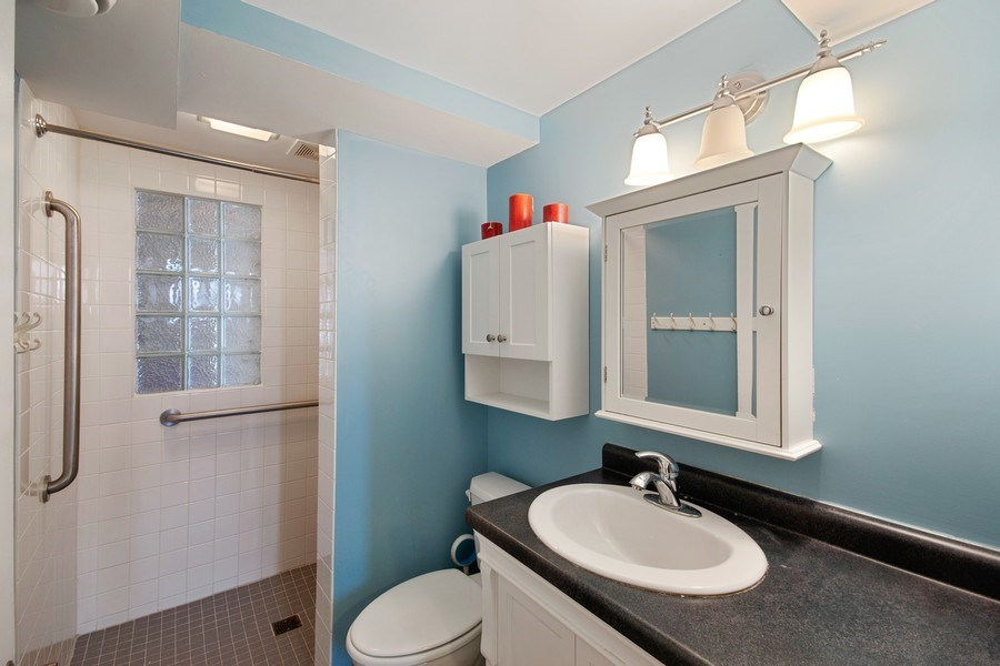Real Estate Photography - 6210 Cypress Drive, Excelsior, MN, 55331 - LL Bath  Walk in Shower