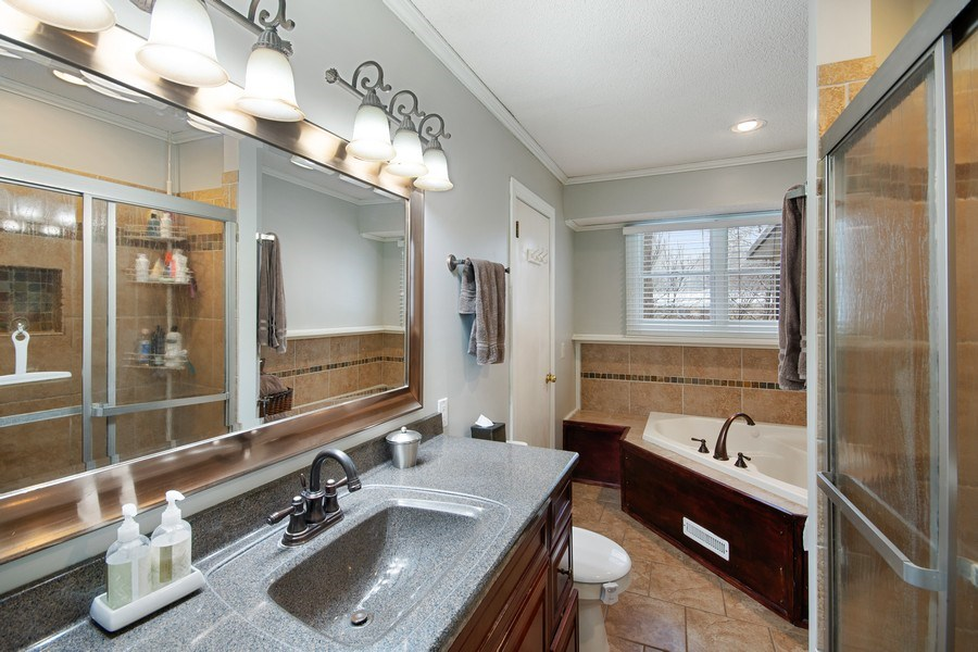 Real Estate Photography - 6210 Cypress Drive, Excelsior, MN, 55331 - Main Bath