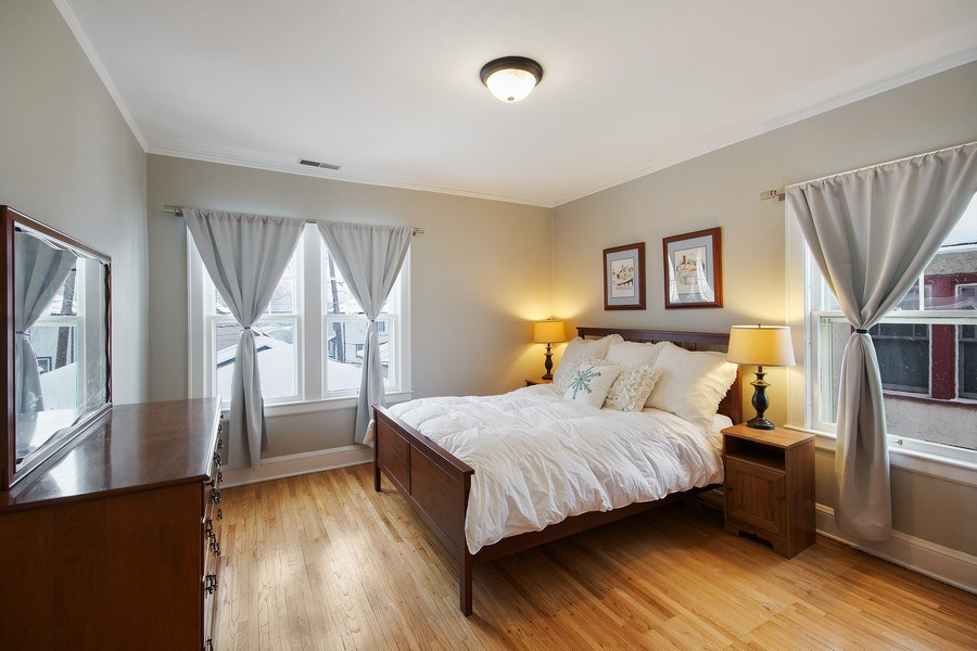 Real Estate Photography - 2166 Randolph Ave.Unit #2, ST. Paul, MN, 55105 - Master Bedroom