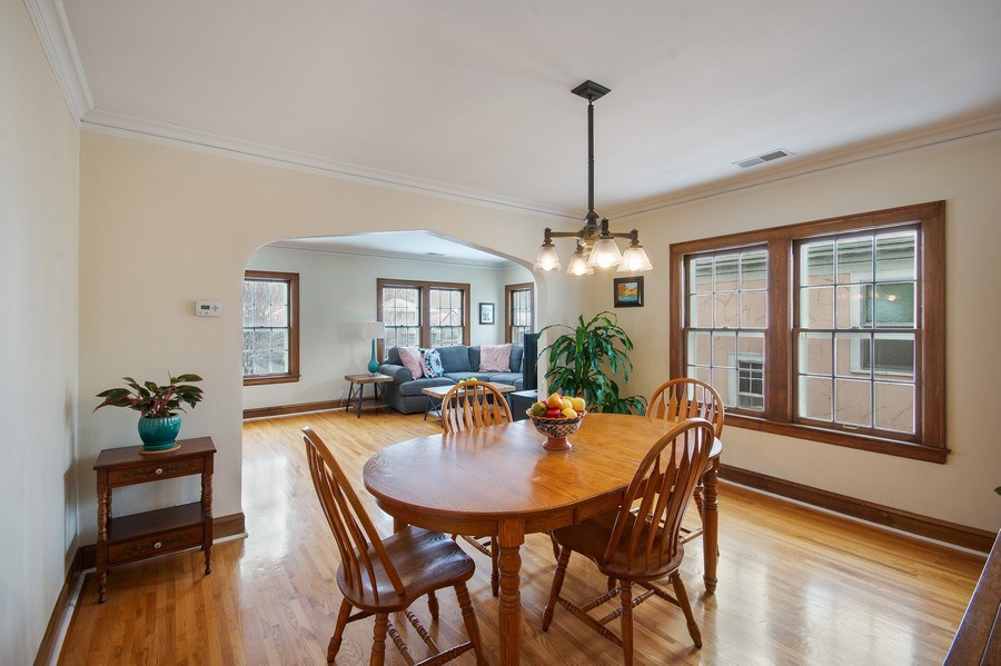Real Estate Photography - 2166 Randolph Ave.Unit #2, ST. Paul, MN, 55105 - Dining Room