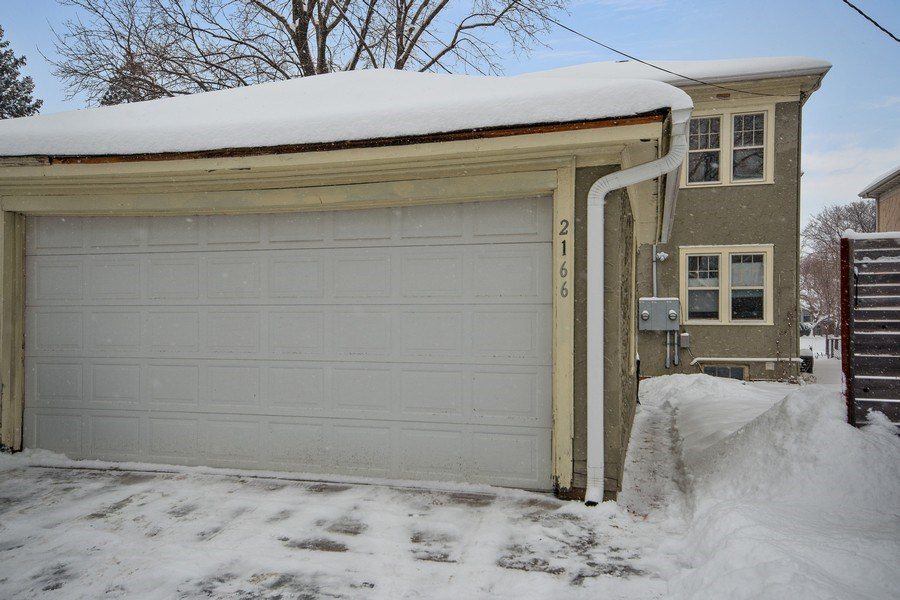 Real Estate Photography - 2166 Randolph Ave.Unit #2, ST. Paul, MN, 55105 - Garage
