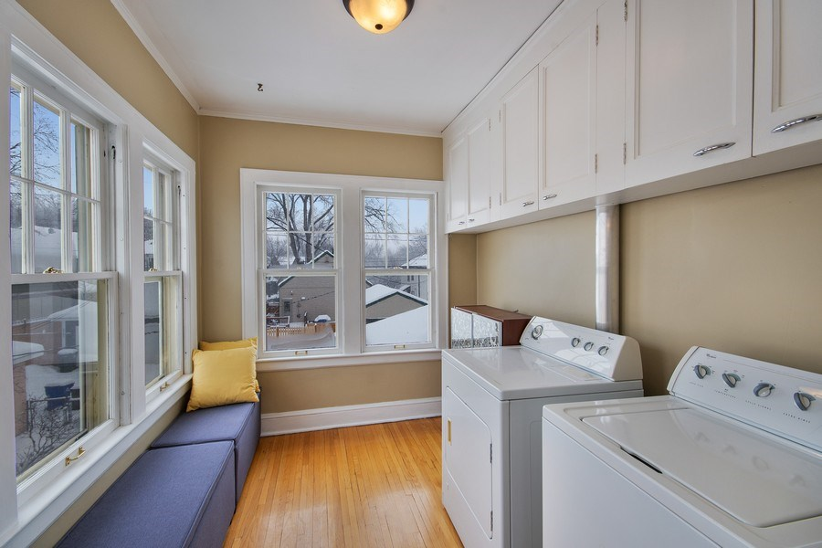 Real Estate Photography - 2166 Randolph Ave.Unit #2, ST. Paul, MN, 55105 - Laundry Room