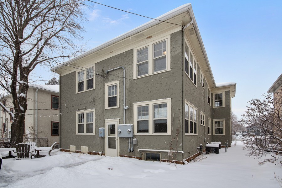 Real Estate Photography - 2166 Randolph Ave.Unit #2, ST. Paul, MN, 55105 - Rear View