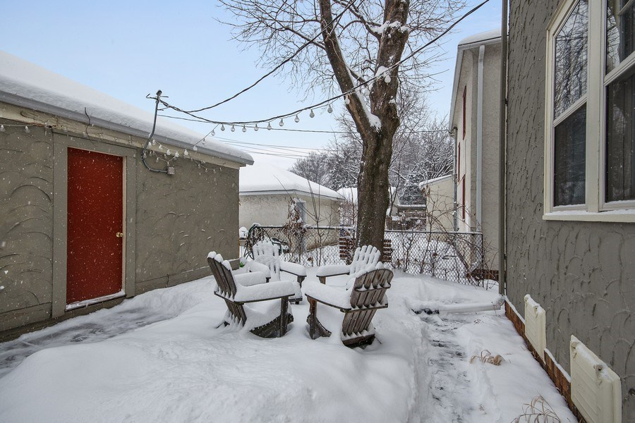 Real Estate Photography - 2166 Randolph Ave.Unit #2, ST. Paul, MN, 55105 - Patio