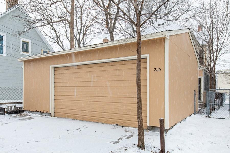 Real Estate Photography - 2115 Bloomington Avenue, Minneapolis, MN, 55404 - Garage