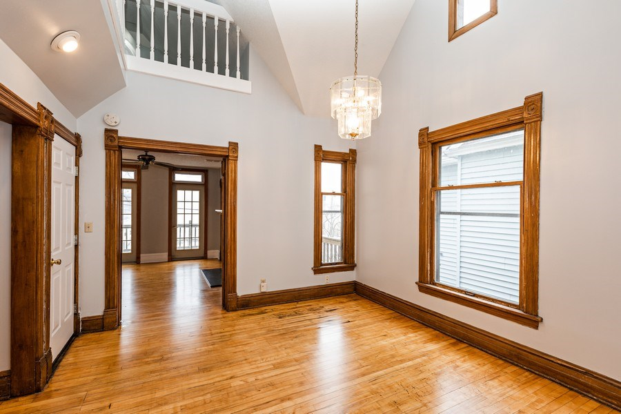 Real Estate Photography - 2115 Bloomington Avenue, Minneapolis, MN, 55404 - Dining Area