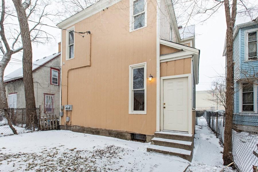 Real Estate Photography - 2115 Bloomington Avenue, Minneapolis, MN, 55404 - Rear View