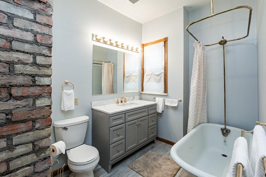 Real Estate Photography - 2115 Bloomington Avenue, Minneapolis, MN, 55404 - Bathroom