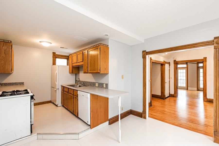 Real Estate Photography - 2115 Bloomington Avenue, Minneapolis, MN, 55404 - Kitchen / Dining Room