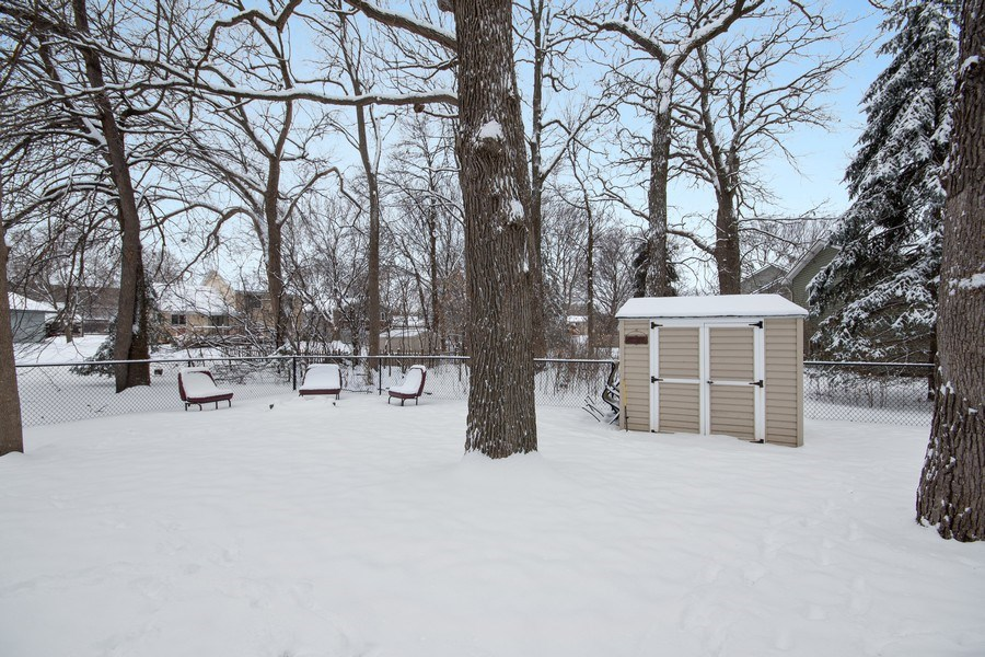 Real Estate Photography - 9333 Penn Ave N, Brooklyn Park, MN, 55443 - Back Yard