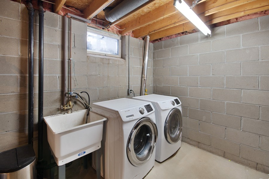 Real Estate Photography - 9333 Penn Ave N, Brooklyn Park, MN, 55443 - Laundry Room