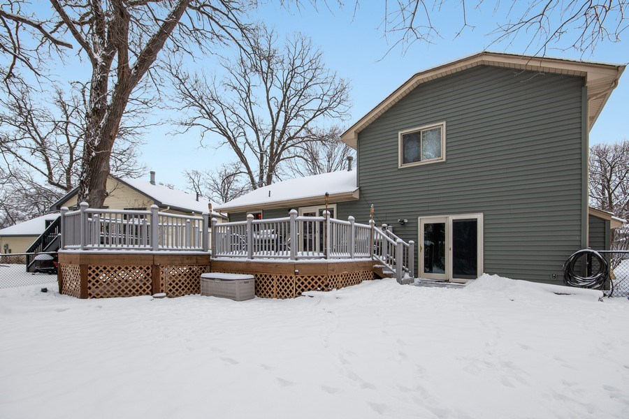 Real Estate Photography - 9333 Penn Ave N, Brooklyn Park, MN, 55443 - Rear View