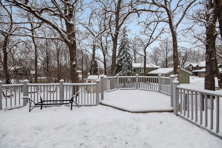 Real Estate Photography - 9333 Penn Ave N, Brooklyn Park, MN, 55443 - Deck