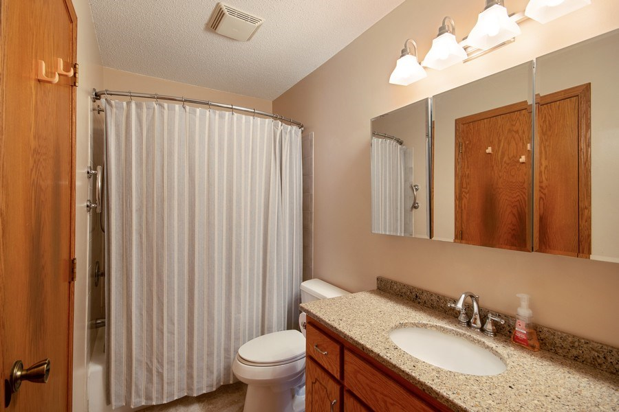Real Estate Photography - 9333 Penn Ave N, Brooklyn Park, MN, 55443 - 2nd Bathroom