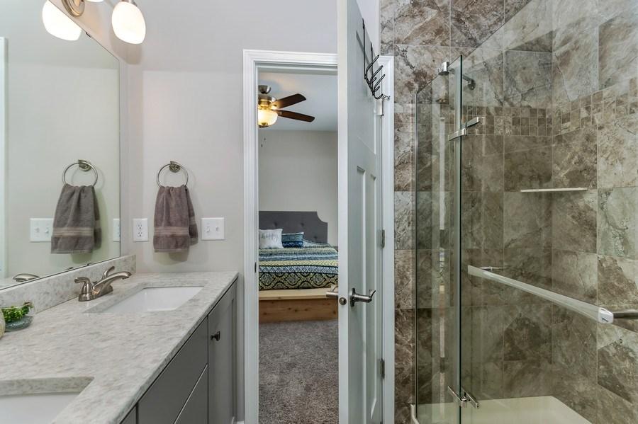 Real Estate Photography - 2227 Longhorn Ln, Buffalo, MN, 55313 - Master Bathroom