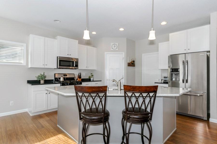 Real Estate Photography - 2227 Longhorn Ln, Buffalo, MN, 55313 - Kitchen