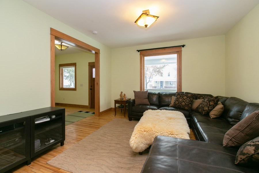 Real Estate Photography - 2730 18th Ave. S., Minneapolis, MN, 55407 - Living Room