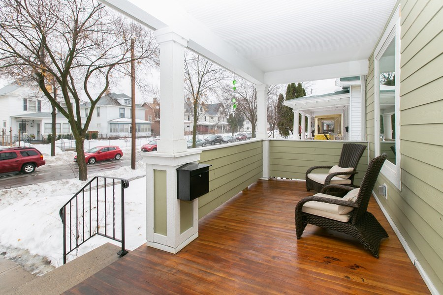 Real Estate Photography - 2730 18th Ave. S., Minneapolis, MN, 55407 - Porch