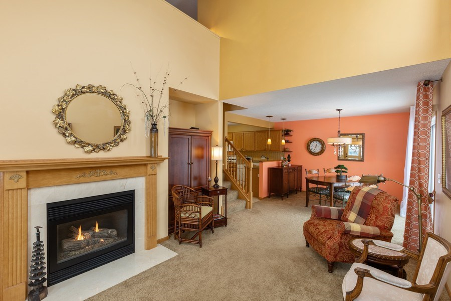 Real Estate Photography - 2193 Flamingo Drive, Shakopee, MN, 55379 - Living Room