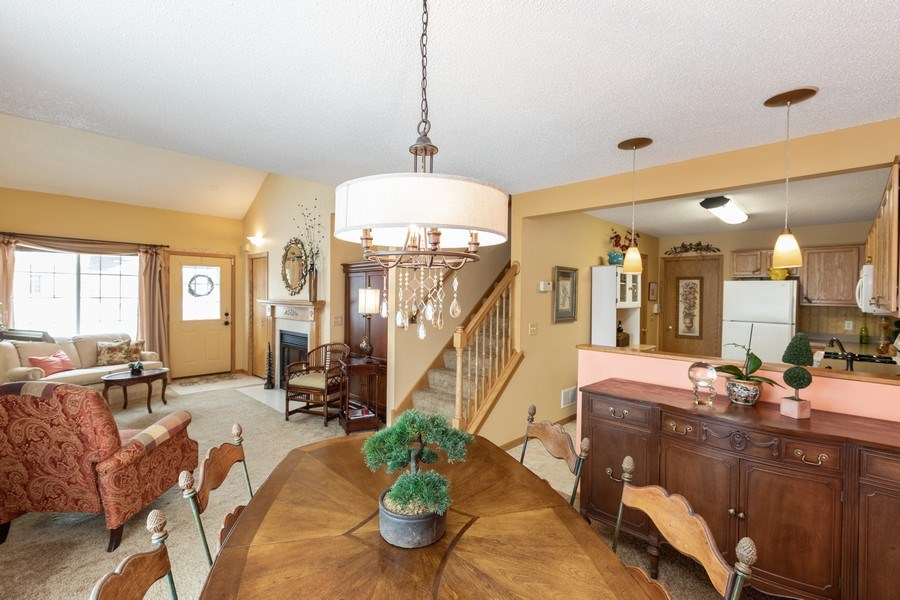 Real Estate Photography - 2193 Flamingo Drive, Shakopee, MN, 55379 - Living Room/Dining Room