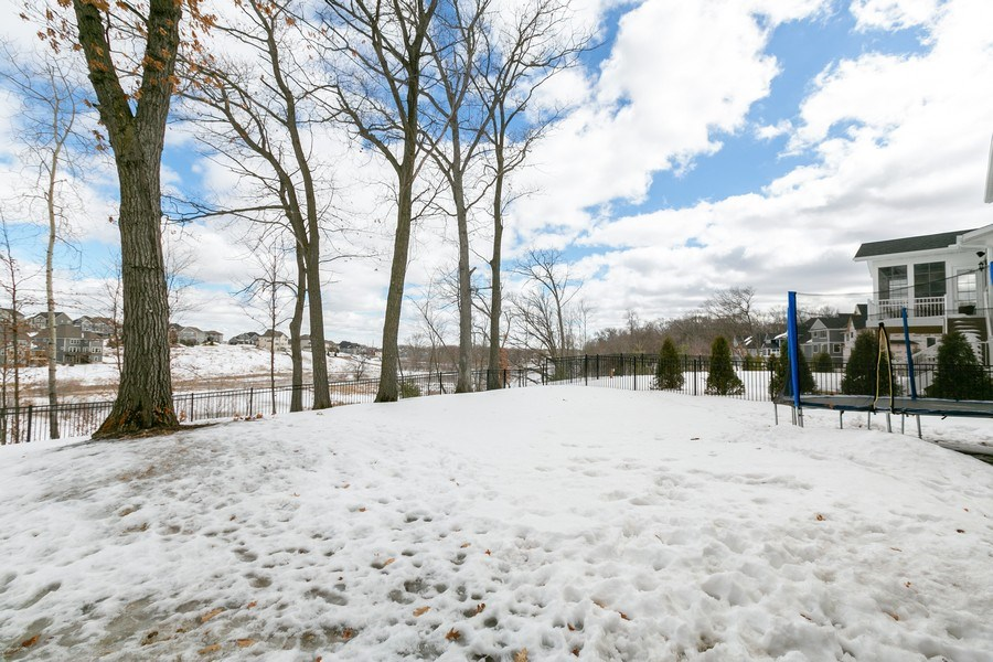 Real Estate Photography - 5270 Ranchview Lane N, Plymouth, MN, 55446 - Back Yard