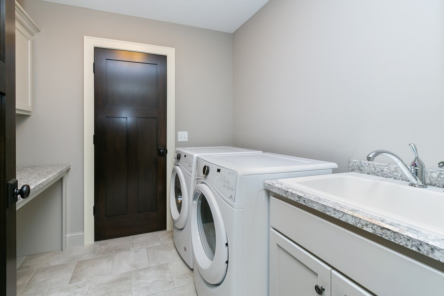 Real Estate Photography - 5270 Ranchview Lane N, Plymouth, MN, 55446 - Laundry Room