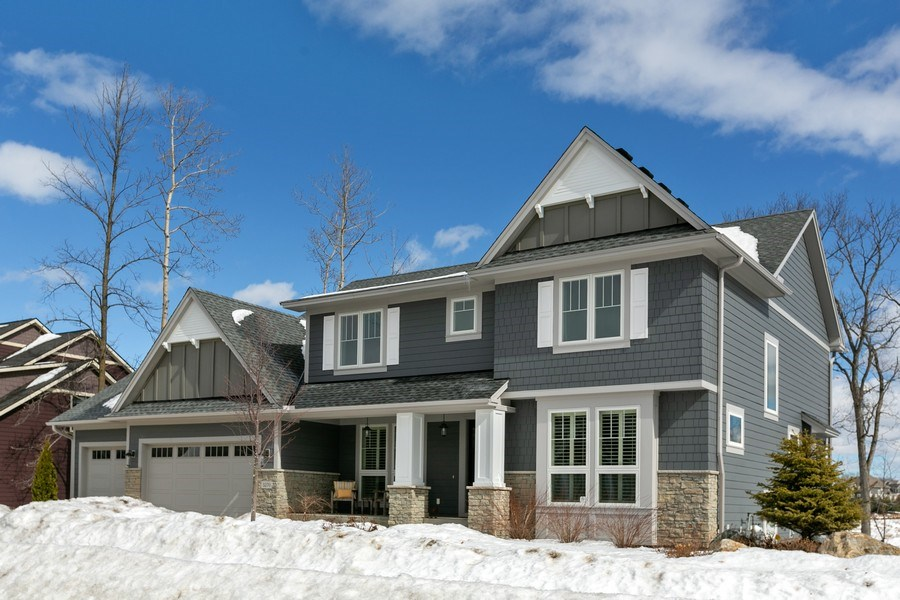Real Estate Photography - 5270 Ranchview Lane N, Plymouth, MN, 55446 - Front View