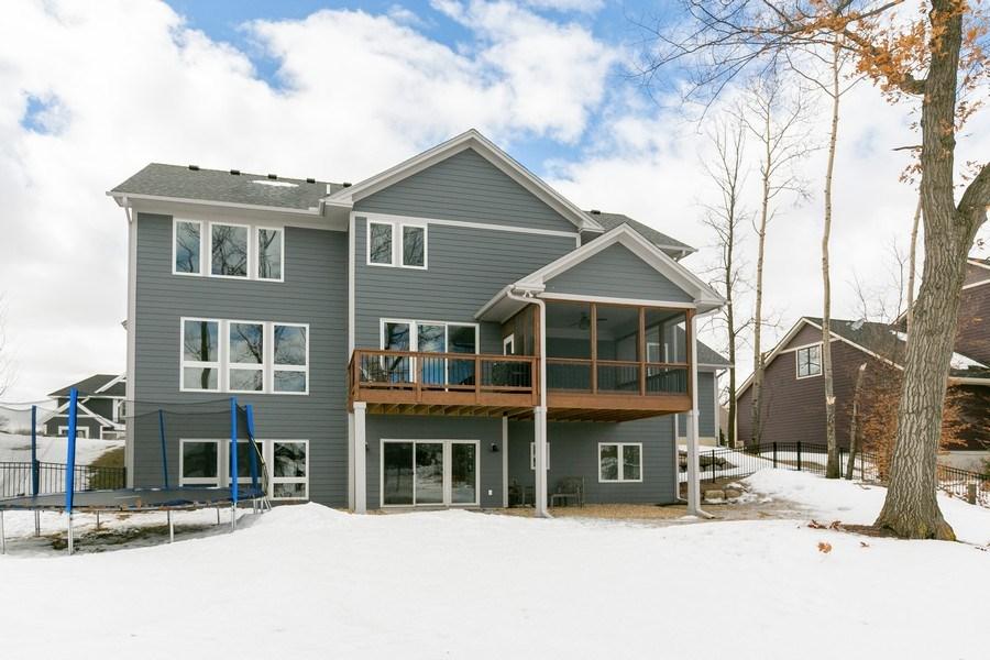 Real Estate Photography - 5270 Ranchview Lane N, Plymouth, MN, 55446 - Rear View