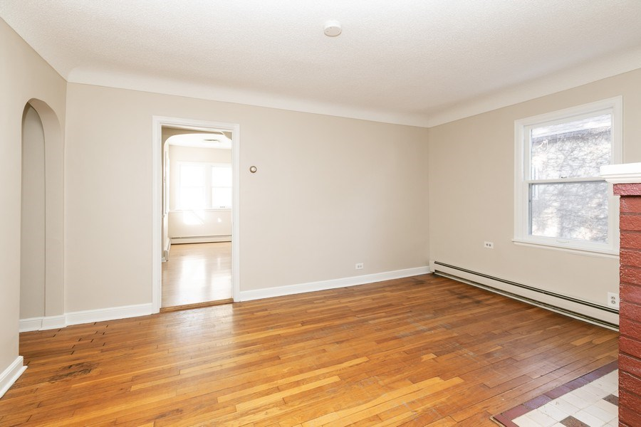 Real Estate Photography - 3935 Washburn Ave N, Minneapolis, MN, 55412 - Living Room