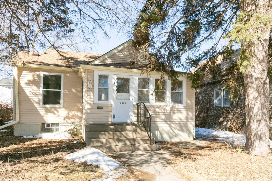Real Estate Photography - 3935 Washburn Ave N, Minneapolis, MN, 55412 - Front View