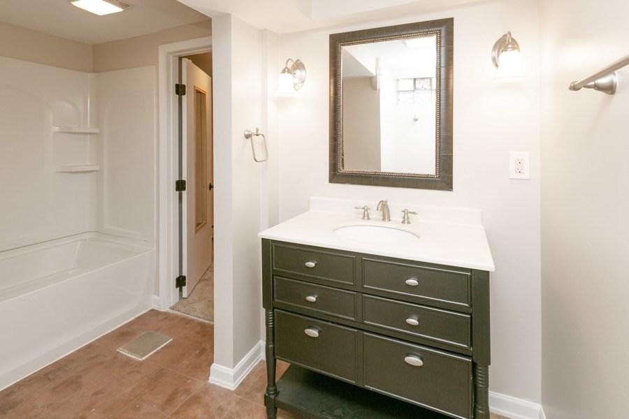 Real Estate Photography - 3935 Washburn Ave N, Minneapolis, MN, 55412 - 2nd Bathroom