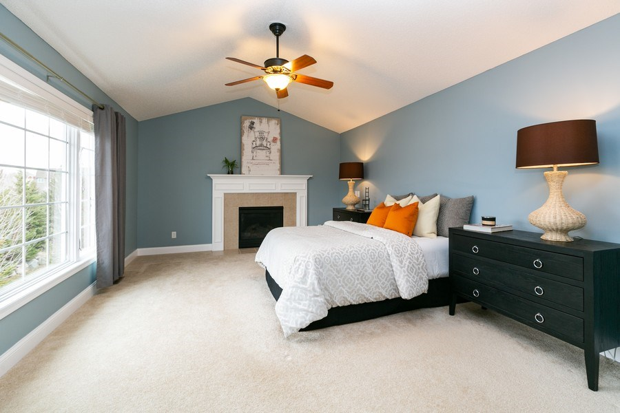 Real Estate Photography - 9817 211th Street, Lakeville, MN, 55044 - Master Bedroom