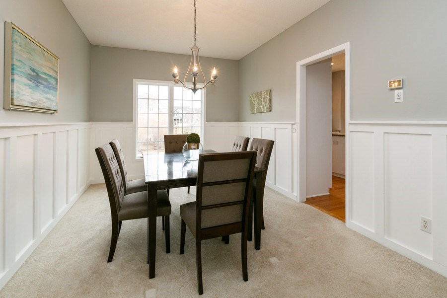Real Estate Photography - 9817 211th Street, Lakeville, MN, 55044 - Dining Room