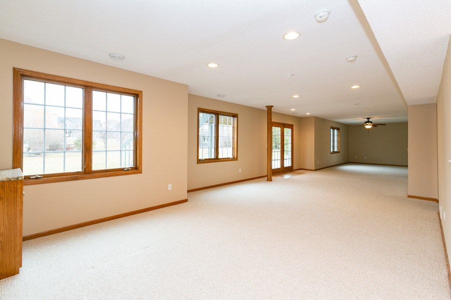 Real Estate Photography - 9817 211th Street, Lakeville, MN, 55044 - Basement