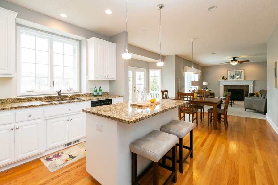 Real Estate Photography - 9817 211th Street, Lakeville, MN, 55044 - Kitchen