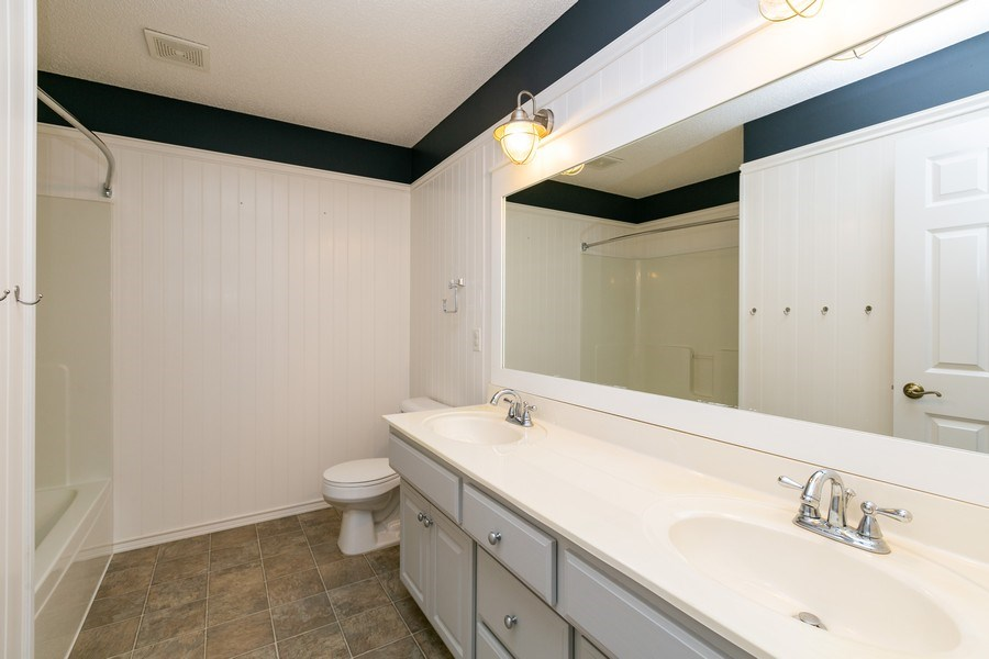 Real Estate Photography - 9817 211th Street, Lakeville, MN, 55044 - 2nd Bathroom