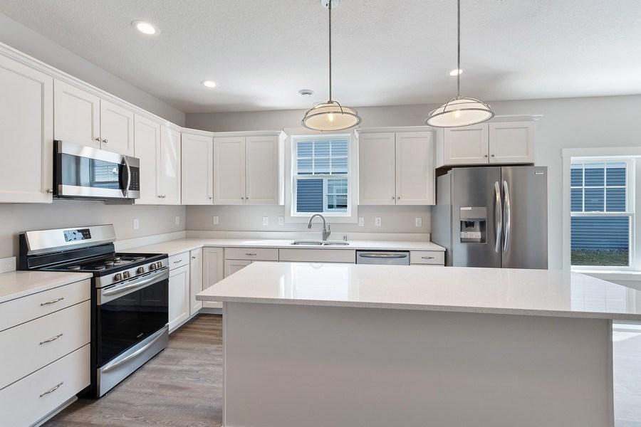 Real Estate Photography - 14983 Carol Ct, Rosemount, MN, 55068 - Kitchen