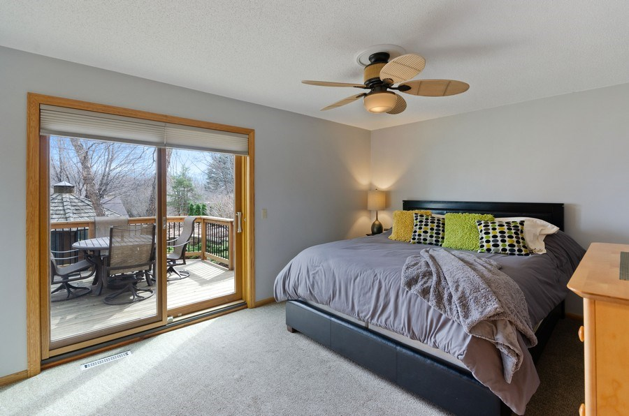 Real Estate Photography - 4222 Yorktown Drive, Eagan, MN, 55123 - Owners Bedroom