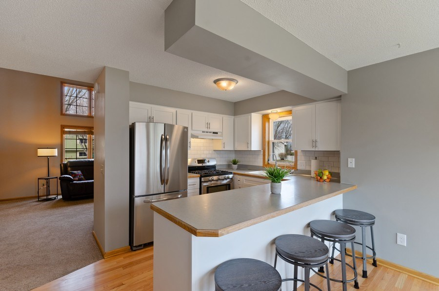 Real Estate Photography - 4222 Yorktown Drive, Eagan, MN, 55123 - Kitchen