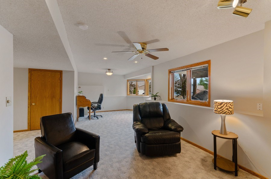 Real Estate Photography - 4222 Yorktown Drive, Eagan, MN, 55123 - Family Room