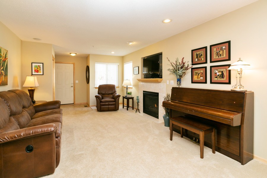 Real Estate Photography - 14985 Mustang Path, Savage, MN, 55378 - Living Room