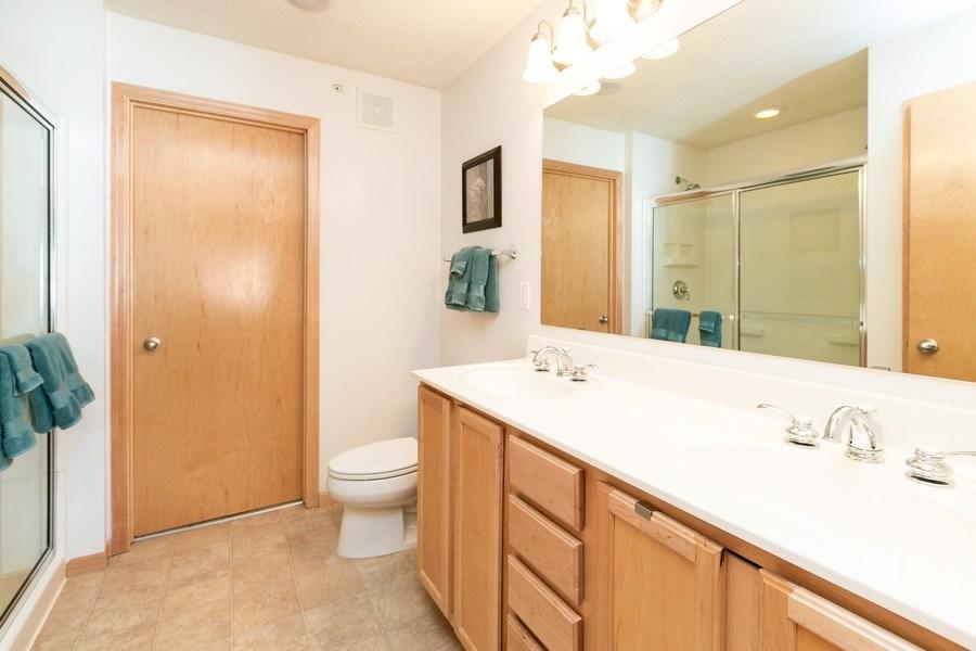 Real Estate Photography - 14985 Mustang Path, Savage, MN, 55378 - Master Bathroom