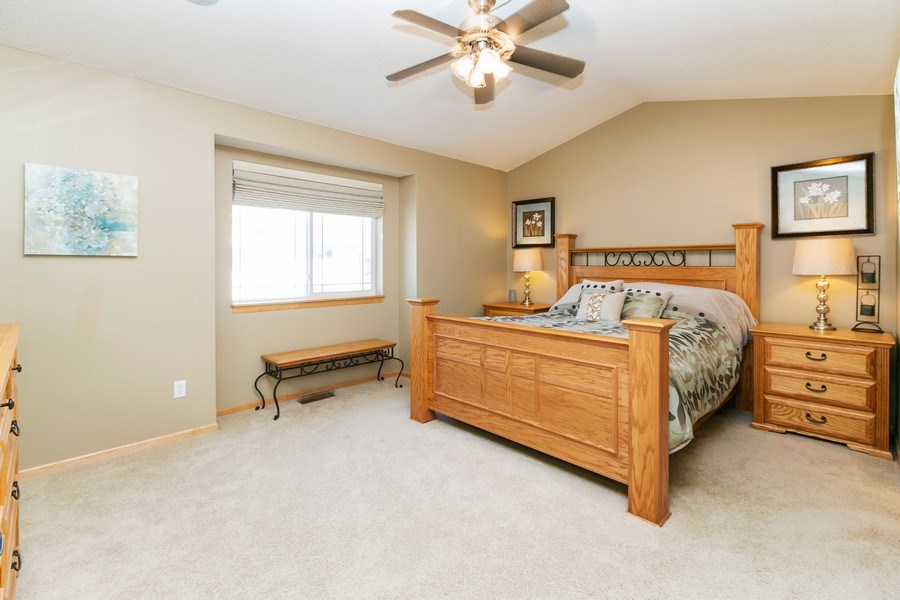 Real Estate Photography - 14985 Mustang Path, Savage, MN, 55378 - Master Bedroom