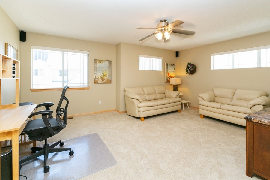 Real Estate Photography - 14985 Mustang Path, Savage, MN, 55378 - Bedroom 3
