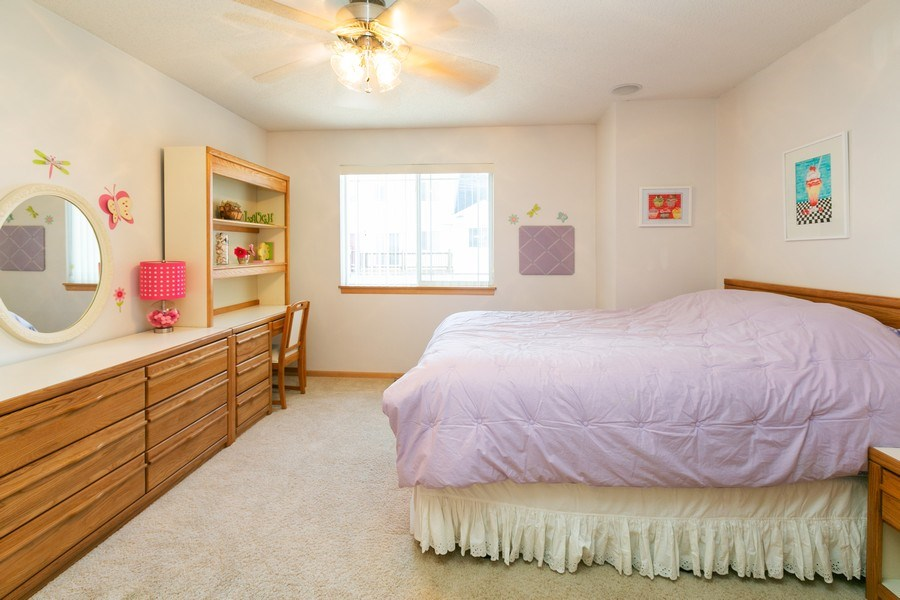 Real Estate Photography - 14985 Mustang Path, Savage, MN, 55378 - Bedroom 2